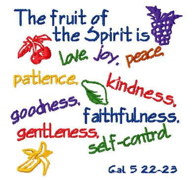 9 Fruits of the Spirit