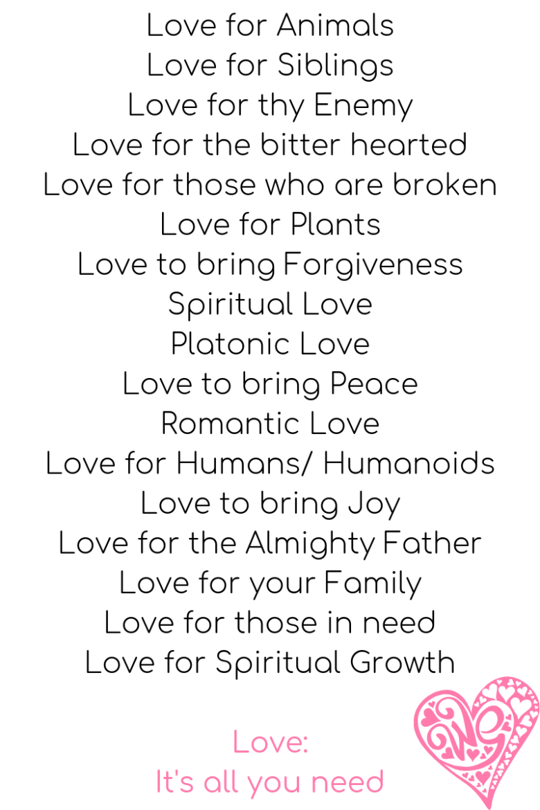 Spiritual Love Warrior - Shades of Love